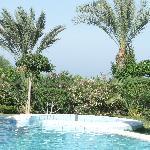 piscine extérieure de la thalasso
