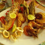 Now here is a real seafood platter!