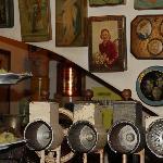 collection impressionnante d'objets