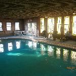 The indoor pool...!