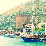 The Alanya Castle from the water