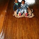 Ann Newman Giant Wooden Slide