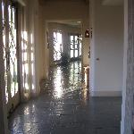 One of the hallways int he main building