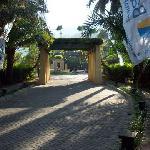 Entrance pathway