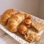 Part of the fresh breakfast