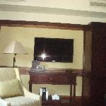 Bedroom with Flatscreen
