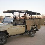 They have two of these trucks for safaris