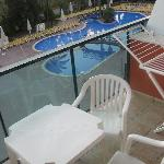 Pool View/Balcony