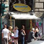 Just a small shop but excellent gelato!