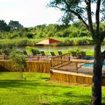 A view from the Lodge towards the Sabie River and Kruger National Park