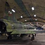 Saab Viggen in the bunker
