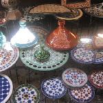 de belles couleurs dans la medina