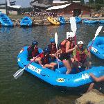 Rafting training area