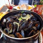 traditional moules frites