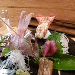 Sashimi combo - view from top right