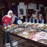 Fresh seafood daily