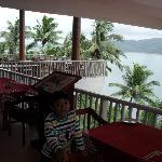 Sea facing restaurant