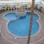 Pool from third floor