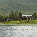 The lodge on the lake