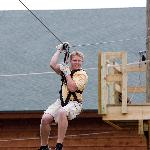 ZipLine at the Adventure Center