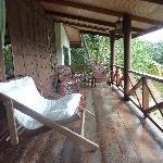 Thai Villa - the porch