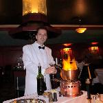Our server and table-chef