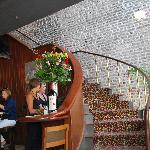 Restaurant reception area