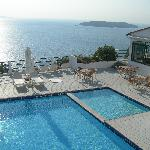 the swimming pool on the seaview