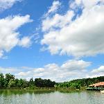 Le lac et la réception