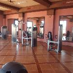 Riu Touareg, gym in spa.