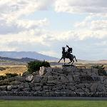 Buffalo Bill statue, Cody, Wyoming