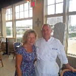 Bev (me) and Chef Joe