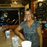 Diane, one of the bartenders