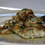 Turbot with Porcinni
