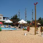 The mini-club area