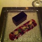 the pressed foiegras with duck confit