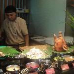 Filipino buffet style at Cabalen
