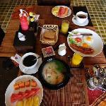 breakfast at Baan Andaman
