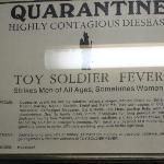 Um.. toy soldier fever quarantine