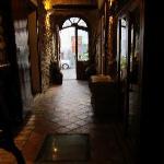 entryway of restaurant