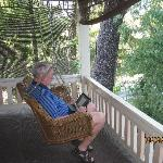 Porch swing (Parlor Room)