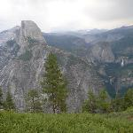 Half Dome from Glacier Point stop