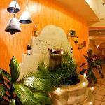 Brunnen vom Restaurant Bugambilias