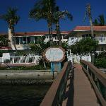 Bayfront Villas from the boat dock
