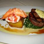 Beef Tenderloin and Poached Lobster