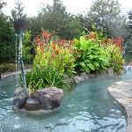 Soaking Pool at Ruby's Spa