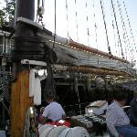 Lifting the sails!
