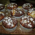 muffins café da manha