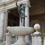 Mercury by Giambologna - Villa Medici, Rome