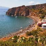 Bay in Panarea